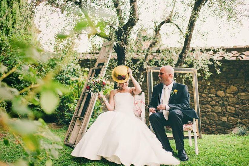 Matrimonio Rustico Idee : Il matrimonio rustic chic di angela e brian in toscana