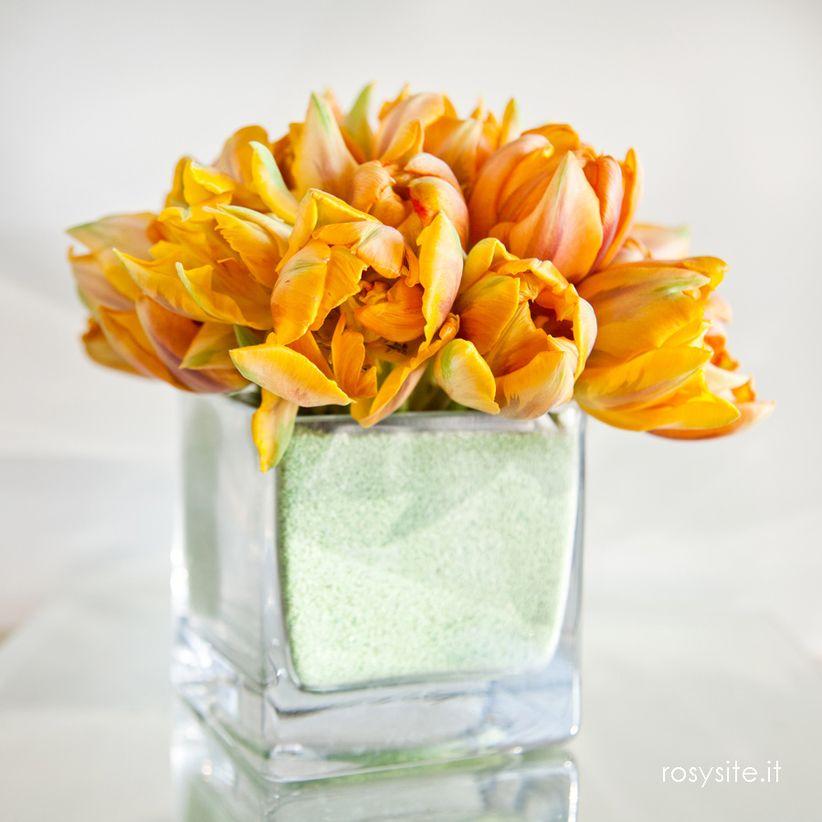 Fiori matrimonio primavera arancioni for Tulipani arancioni
