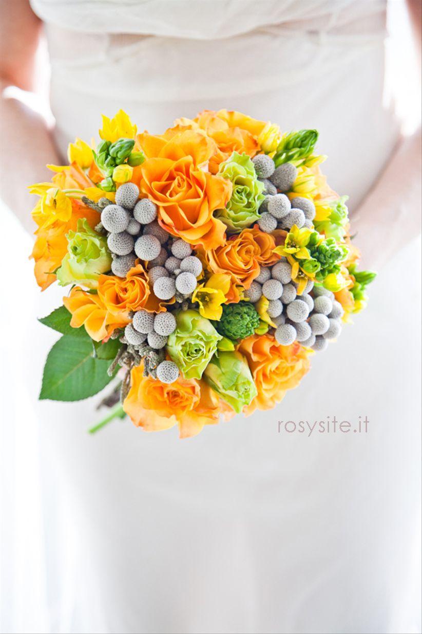 Allestimento Matrimonio Rustico : Fiori matrimonio primavera arancioni