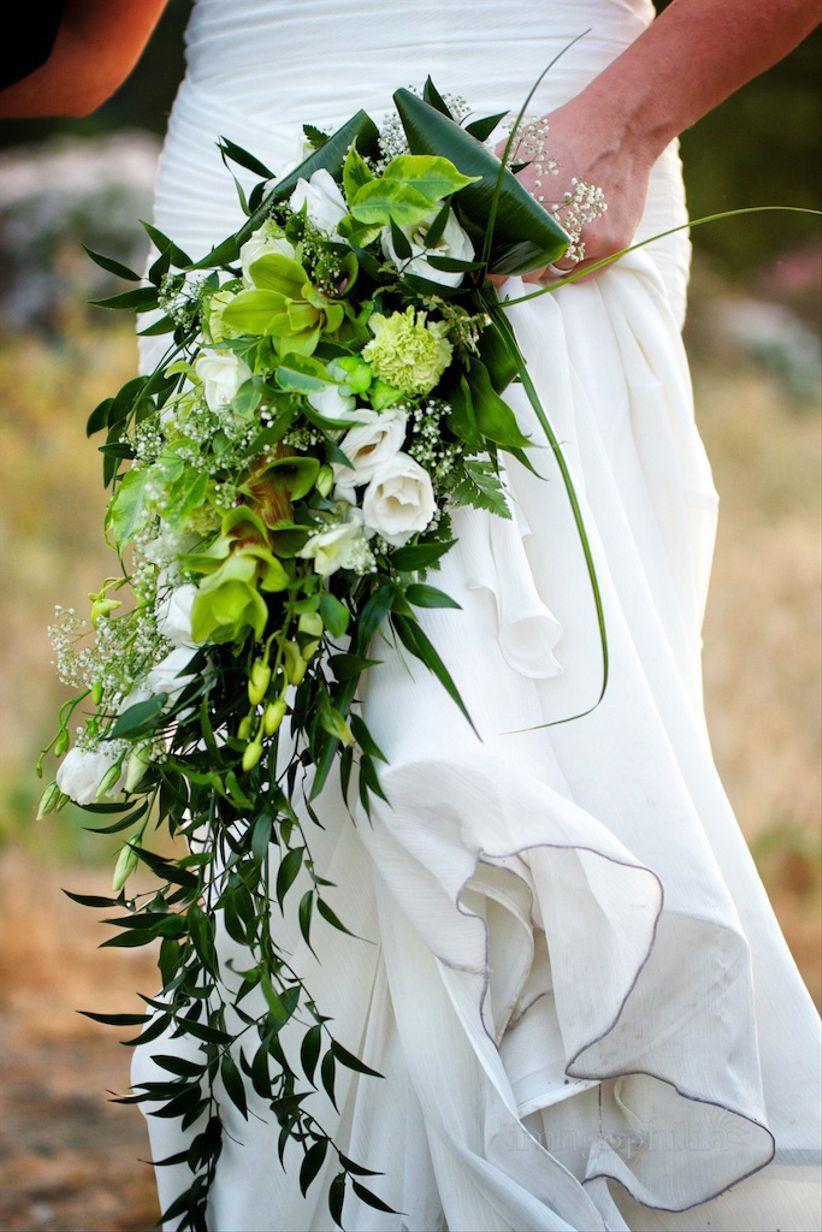 Risultati immagini per bouquet a cascata