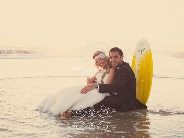 Idee per matrimonio surf