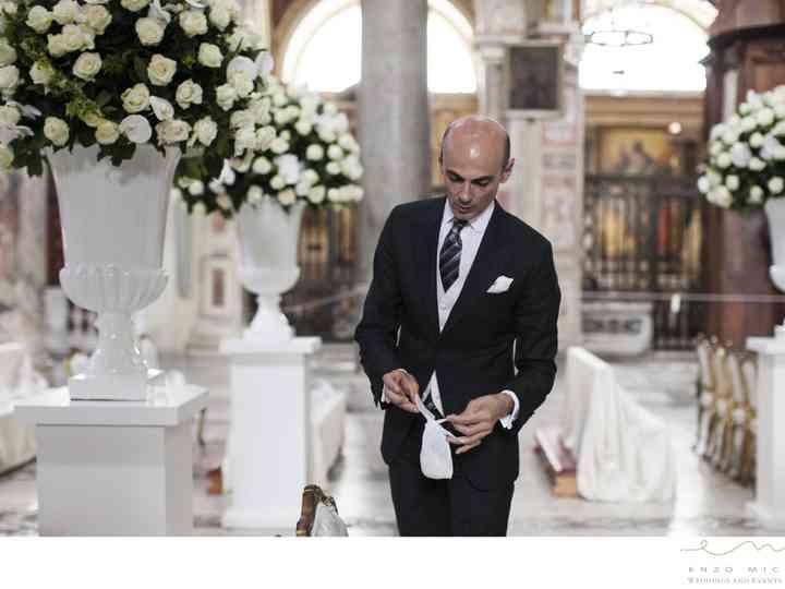 Segnaposto Matrimonio Enzo Miccio.Allestimenti By Enzo Miccio Per Le Nozze Di Valeria Marini
