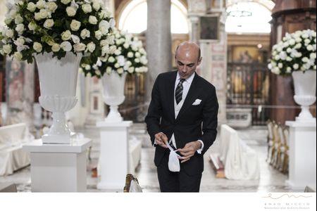 Allestimenti by Enzo Miccio per le nozze di Valeria Marini