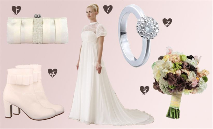 Tema Matrimonio Jane Austen : Look sposa ispirazione jane austen