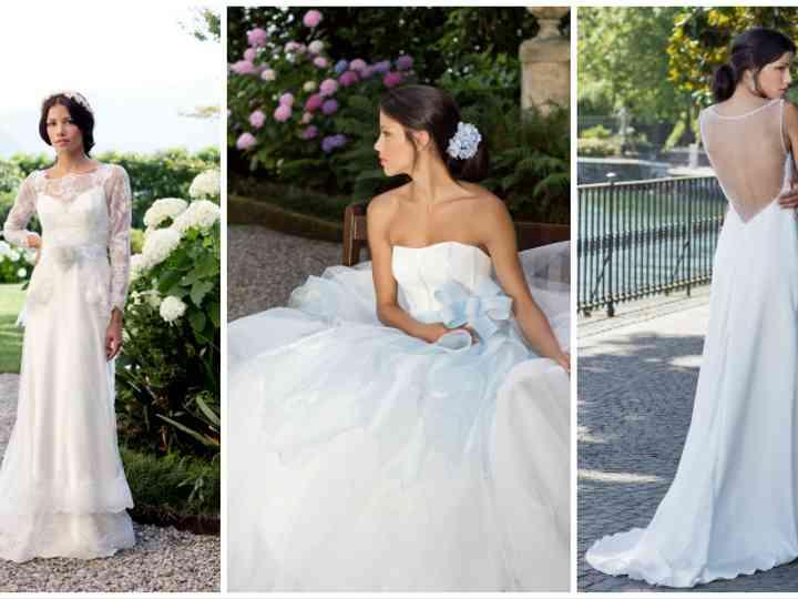 Abiti Da Sposa Como.La Nuova Collezione Di Abiti Da Sposa Firmata Alessandro Tosetti