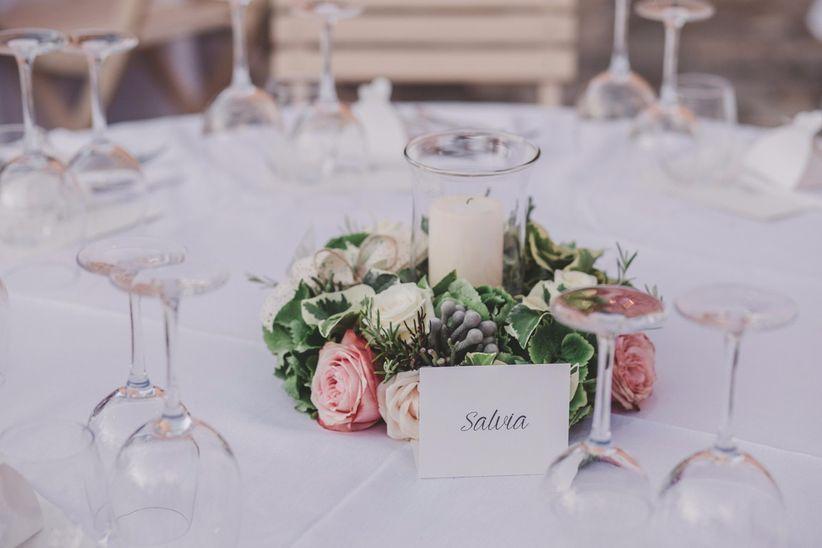 Tema Matrimonio Candele E Lanterne : 20 centrotavola per nozze dautunno