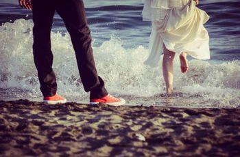 The day after: una giornata in riva al mare mano nella mano
