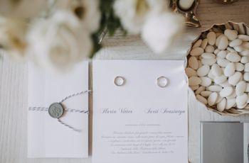 30 idee per realizzare delle partecipazioni di nozze classiche