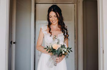 Look da sposa naturale...senza inganno!