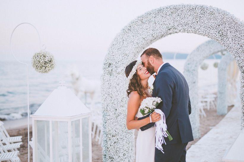 Matrimonio Spiaggia Rito Civile : Celebrare la cerimonia civile in spiaggia italia si