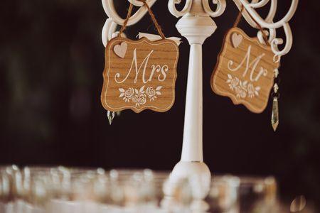 L'abc per scegliere le decorazioni del ricevimento di nozze