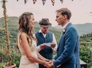 Allestimenti floreali per nozze all'aperto in Toscana