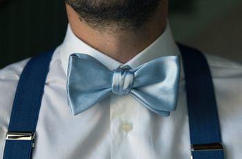 Il papillon per lo sposo: una moda adatta a tutti?