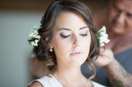 Acconciature da sposa per capelli ricci 2016