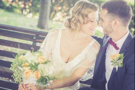 Bouquet da sposa per nozze vintage