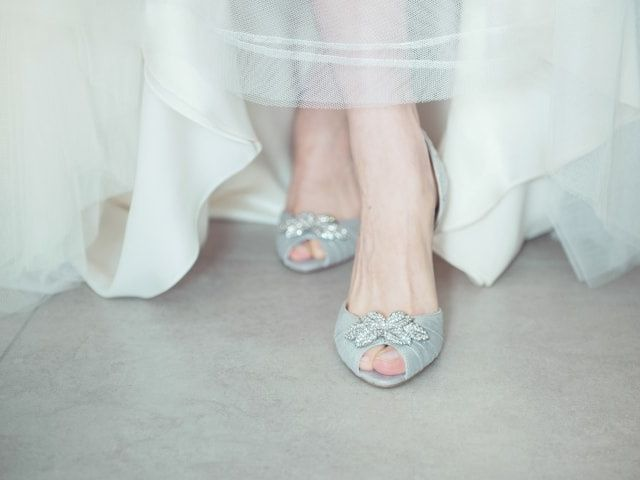 Tendenze scarpe da sposa 2015