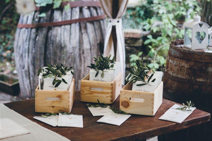 Decorazioni Sala Laurea : Decorazioni con erbe aromatiche: una scelta green che profuma di