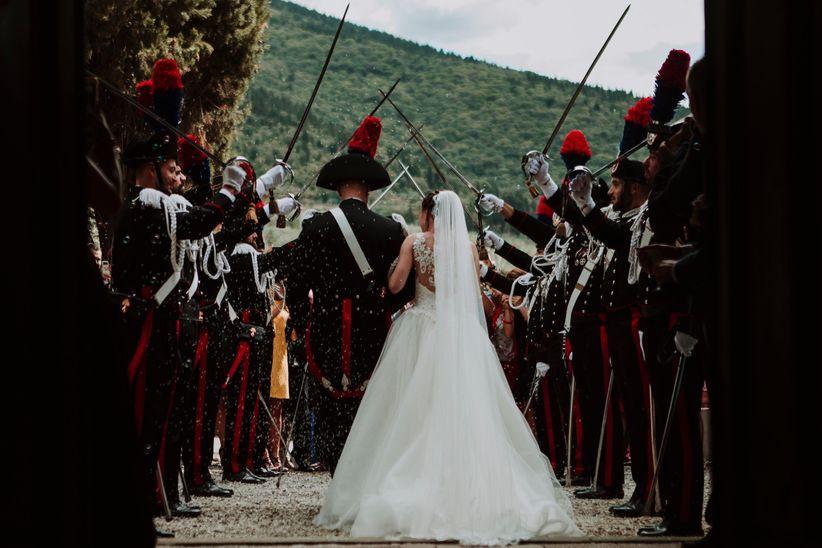 Matrimoni militari  le tradizioni e i rituali di professione 32e80185a2c