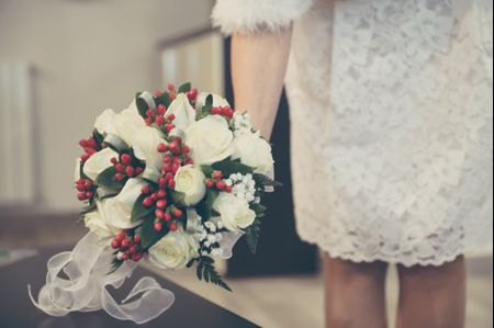 6 idee originali per un bouquet da sposa invernale