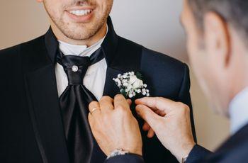 4 consigli per scegliere la cravatta da indossare al vostro matrimonio