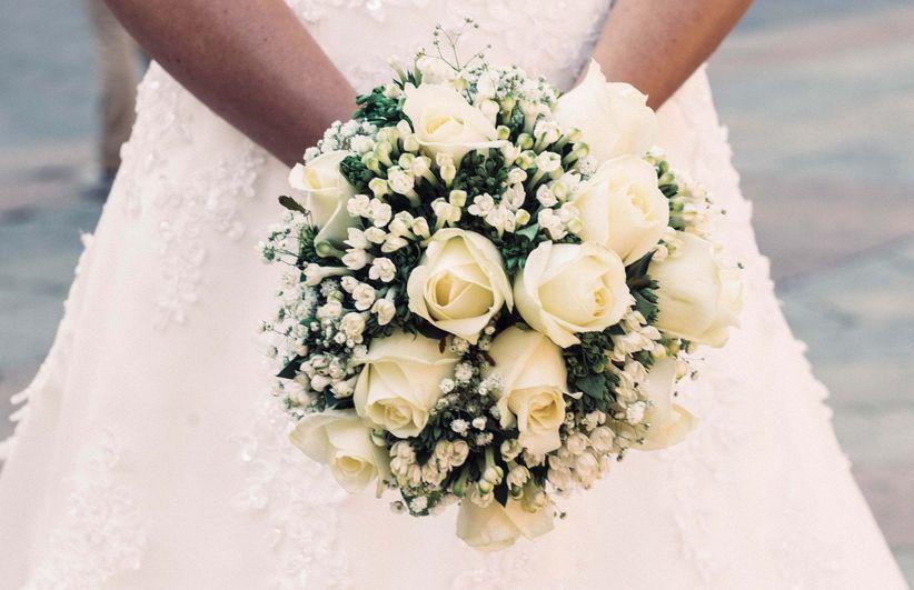 f600914fb117 40 bouquet da sposa bianchi per un tocco glamour e raffinato