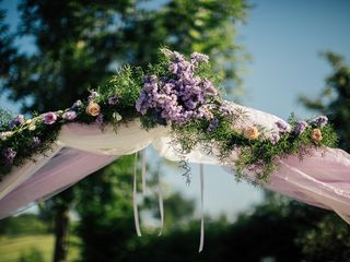 Ultra violet: il colore dell'anno per le decorazioni delle vostre nozze