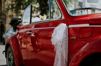 Auto di nozze: le migliori idee per delle decorazioni economiche