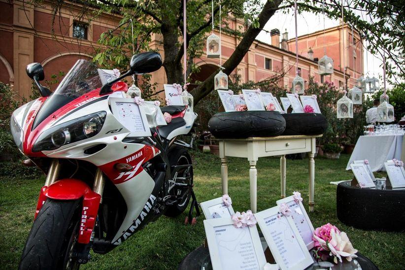 Segnaposto Matrimonio Moto.5 Idee Per Sposi Motociclisti
