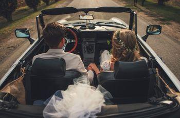 Noleggiare l'automobile per il giorno delle nozze: 5 punti da tenere in considerazione