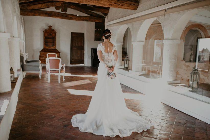 Wedding Cherìe. Una delle parti più ammirate dell abito da sposa ... 4f6b63e5eaf