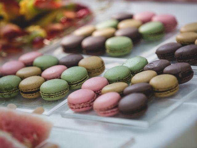 Macarons: il dessert nuziale ispirato à la France