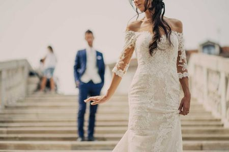 La sposa e il pizzo: una storia d'amore
