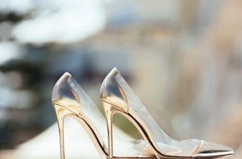 Scarpe da sposa laminate e dai toni pastello: 50 modelli glamour