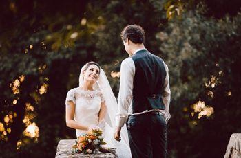 Mostrare allo sposo il vestito prima delle nozze: sì o no?