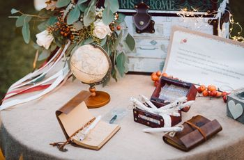 6 idee per le decorazioni delle vostre nozze autunnali
