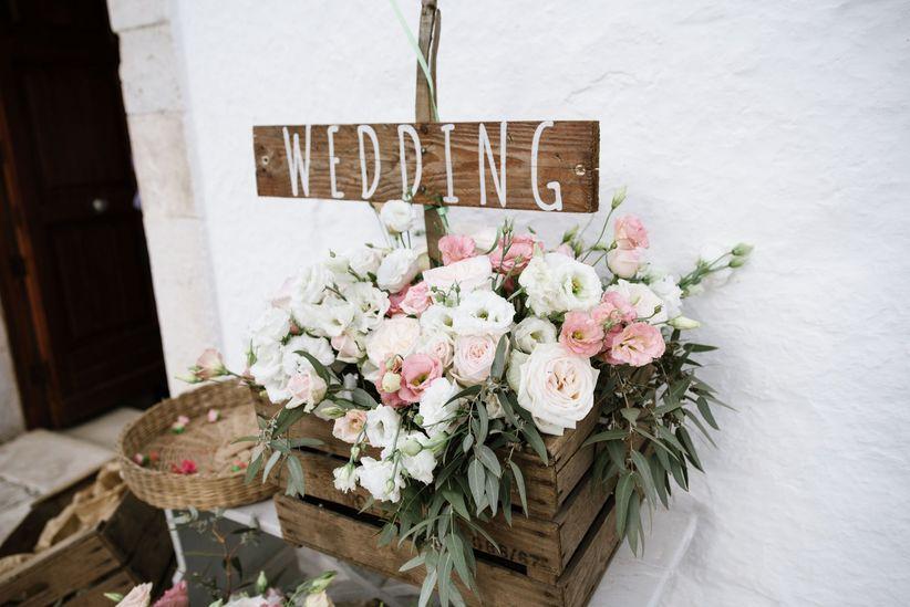 Addobbi Floreali Matrimonio Rustico : 50 idee per decorare la chiesa delle vostre nozze