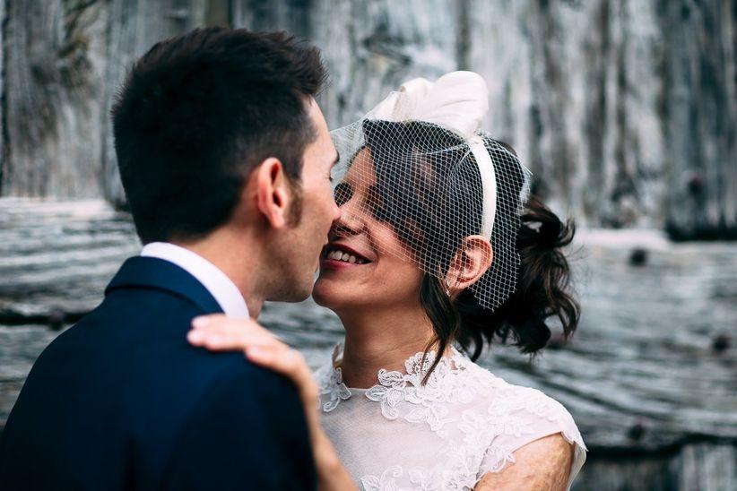 Veletta da sposa  quel tocco vintage che fa subito bon ton 90de713a2362