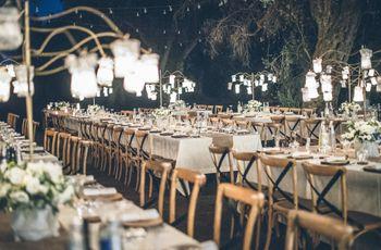 Organizzare un banchetto di nozze all'aria aperta: 5 cose da considerare