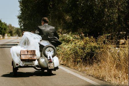 Noleggiate un sidecar per le vostre nozze!