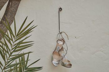 Quali scarpe da sposa col tacco indossare sotto l'abito corto? Ecco come sceglierle!