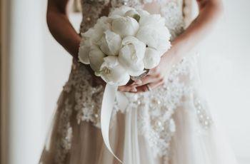 Bouquet da sposa con un solo tipo di fiore: 8 proposte per una scelta di stile!
