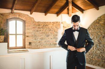 Come scegliere l'abito da sposo in base alla propria corporatura?