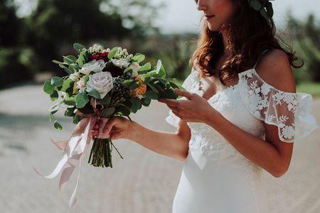 """60 bouquet da sposa: il """"boom"""" delle composizioni messy!"""