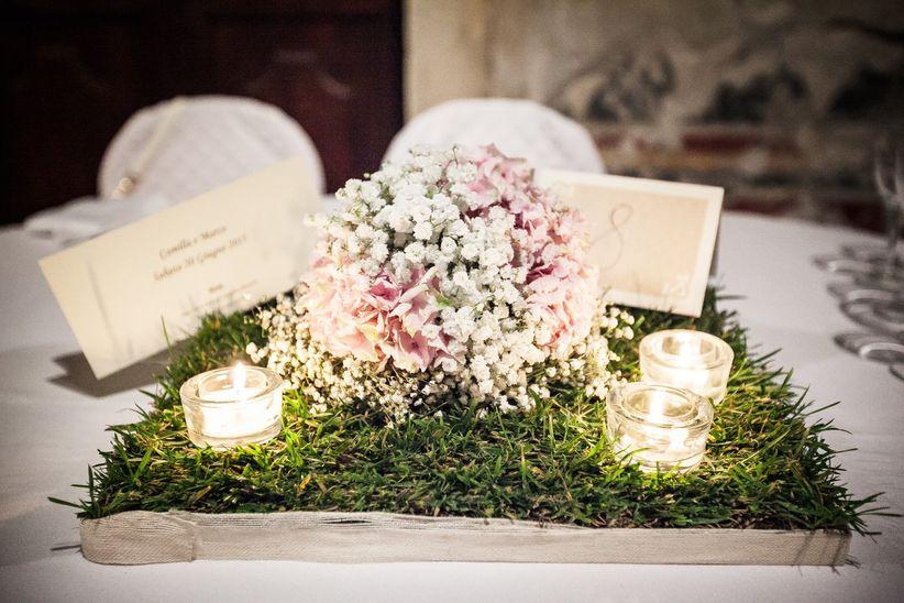 Centrotavola Matrimonio Rustico : Idee originali per centrotavola di matrimonio a cui