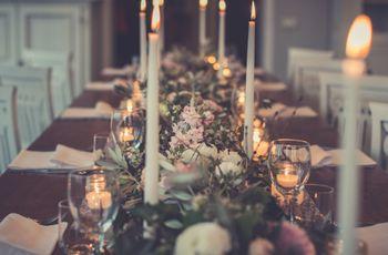 30 idee per decorare il vostro matrimonio con le candele
