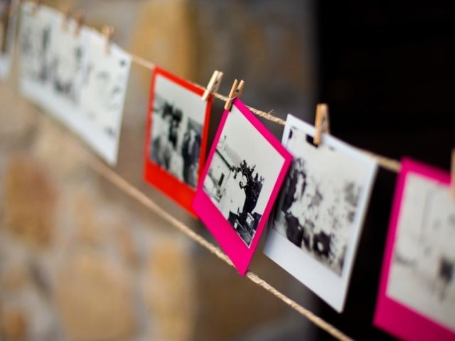 6 idee per decorare il vostro matrimonio con le fotografie