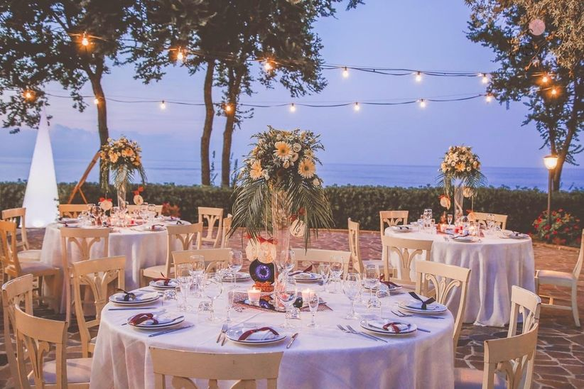 6 idee per illuminare il ricevimento di nozze con ...