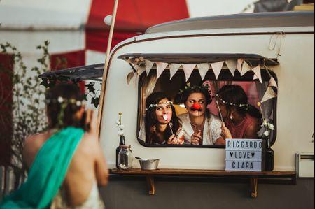 5 idee per intrattenere i vostri invitati durante il servizio fotografico di nozze