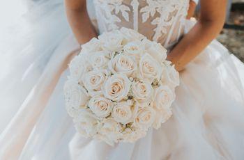 Alla ricerca di un bouquet da sposa primaverile? Puntate sulle rose!