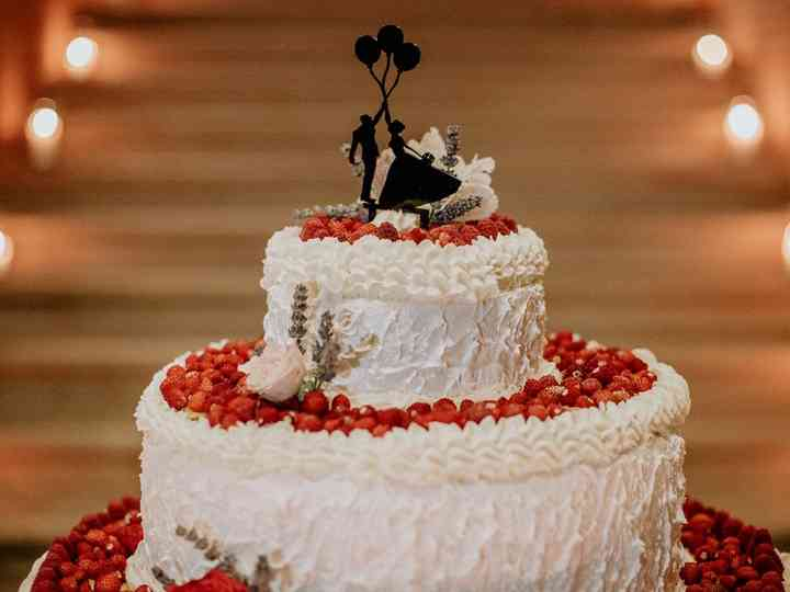 Tutti frutti: 50 torte nuziali buone da mangiare e belle da vedere!